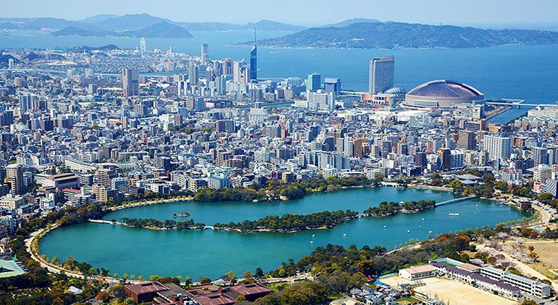 Fukuoka tu tren cao