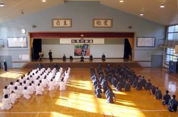 Kendo at yashima junior high school